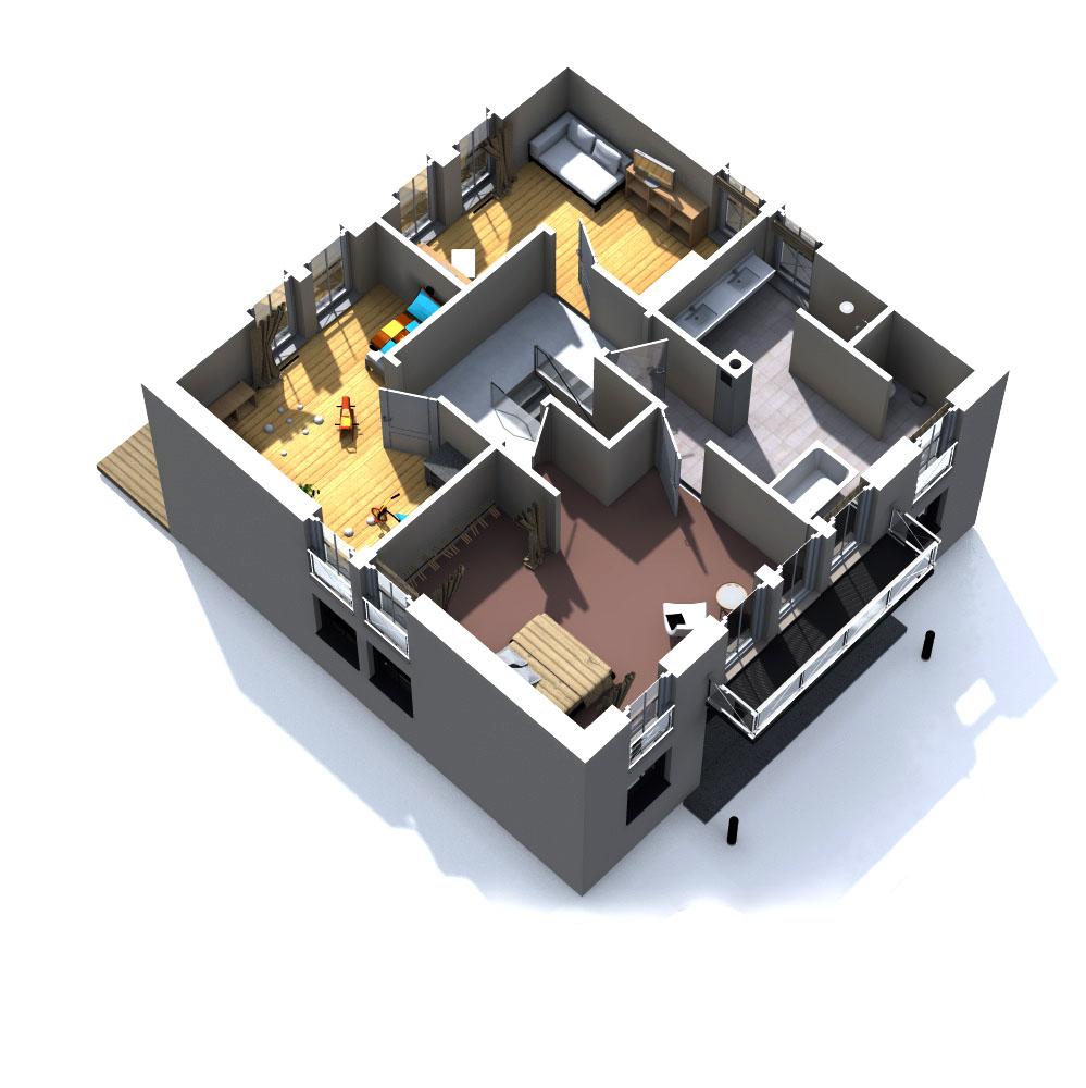 haus heike massivbau kern. Black Bedroom Furniture Sets. Home Design Ideas